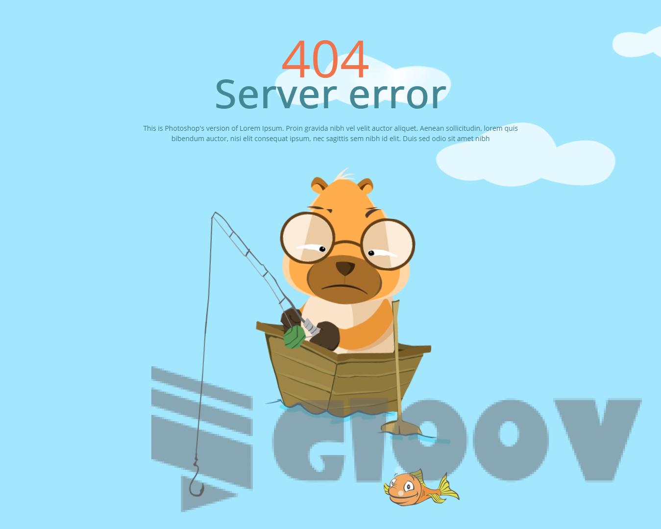 出错也要有个性——10个精品个性动态动画404错误页面预览+下载